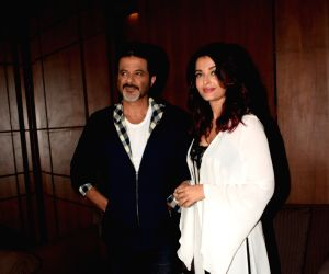 "Media interaction of film ""Fanney Khan"" - Anil Kapoor and Aishwarya Rai Bachchan"