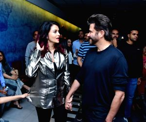 "Special screening of film ""Fanney Khan"" - Anil Kapoor and Aishwarya Rai Bachchan"