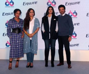 Anil Kapoor, Neena Gupta during a programme