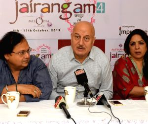 Jaipur Theatre Festival - press conference