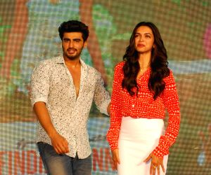 Launch of song 'Shake your Bootiya' from film Finding Fanny