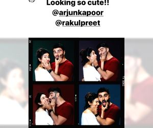Janhvi Kapoor finds Arjun, Rakul 'cute' in their new film