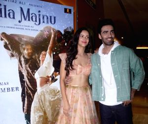 "Trailer launch of film ""Laila Majnu"" - Avinash Tiwary and Tripti Dimri"