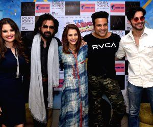 """Press conference of film """"Teri Bhabhi Hai Pagle"""" - Deepshikha Nagpal, Mukul Dev, Krushna Abhishek and Rajneesh Duggal"""