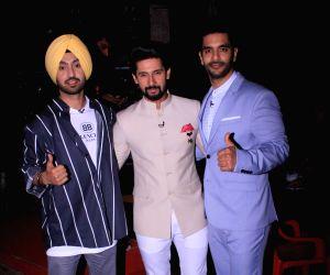 "Show ""Sabse Smart Kaun"" - Diljit Dosanjh, Ravi Dubey and Angad Bedi"