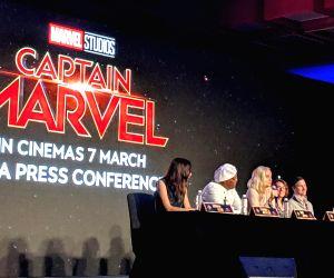Captain Marvel - press conference