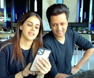 Riteish to birthday girl Genelia: Growing young with you is a blessing