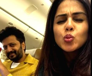 Genelia D'Souza to Riteish Deshmukh on anniversary: Best is yet to come
