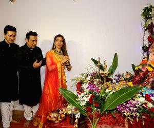 Govinda celebrates Ganesh Chaturthi