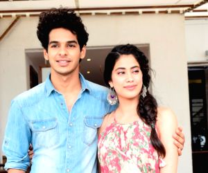 "Media interaction of film ""Dhadak"" - Ishaan Khatter and Janhvi Kapoor"