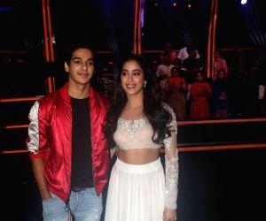 "Dance Deewane"" show - Ishaan Khatter and Janhvi Kapoor"