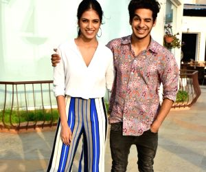 "Promotion of film ""Beyond the Clouds"" - Ishaan Khatter and Malavika Mohanan"
