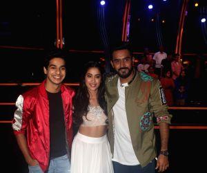 "Dance Deewane"" show - Ishaan Khatter, Janhvi Kapoor and Shashank Khaitan"