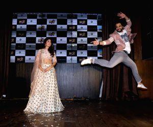 "Music concert of their upcoming film ""Mitron"" - Jackky Bhagnani and Kritika Kamra"