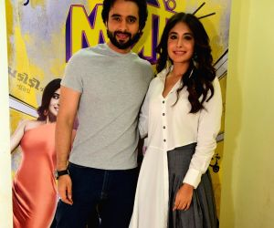 "Promotion of film ""Mitron"" - Jackky Bhagnani and Kritika Kamra"