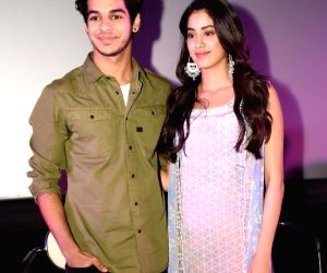 Janhvi Kapoor and Ishaan Khatter celebrate one year of 'Dhadak'