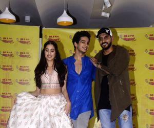 "Promotion of film ""Dhadak"" - Janhvi Kapoor, Ishaan Khatter and Shashank Khaitan"