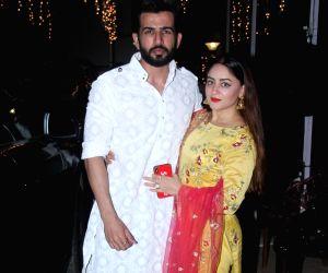 Shabnam Kapoor's Diwali party