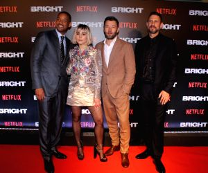 "Special screening of film ""Bright"" - Joel Edgerton, Will Smith, Noomi Rapace and David Ayer"