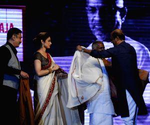 Film Shamitabh music launch and celebration of 1000 film of music composer Ilaiyaraaja