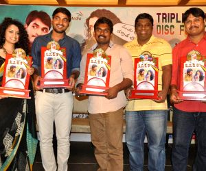 Hyderabad : Telugu film Pora Pove triple platinum disc function