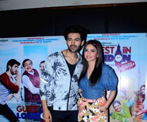 Promotion of film Guest Iin London