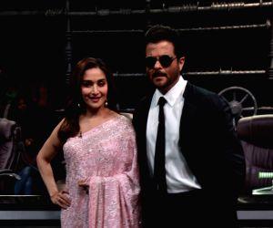 Actors Madhuri Dixit and Anil Kapoor. (Photo: IANS)