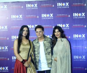 "Promotion of film ""Saheb Biwi Aur Gangster"" - Mahie Gill, Jimmy Sheirgill and Chitrangada Singh"