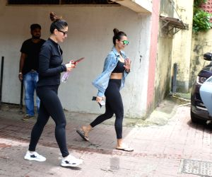 Kareena Kapoor at Mumbai gym