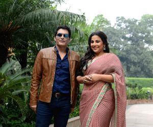 "Promotion of film ""Tumhari Sulu"" - Manav Kaul and Vidya Balan"