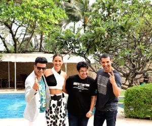 "Promotion of film ""Satyameva Jayate"" - Manoj Bajpayee, Aisha Sharma, John Abraham and Milap Zaveri"