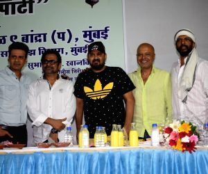 Inspector Subhash Khanvilkar's iftar party
