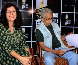 Media interaction and screening of short film,Interior Cafe - Night