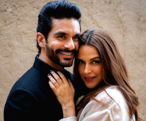 Neha Dhupia shares first