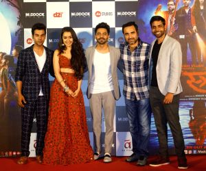 "Trailer launch of film ""Stree"" - Pankaj Tripathi, Shraddha Kapoor, Rajkummar Rao and Aparshakti Khurrana"