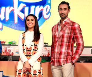 Product launch - Parineeti Chopra, Kunal Kapoor