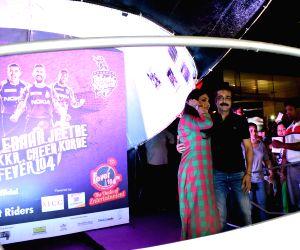 Cricket Helmet inauguration - Prosenjit Chatterjee,  Rituparna Sengupta