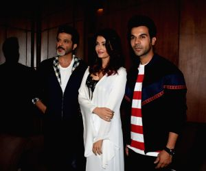 "Media interaction of film ""Fanney Khan"" - Rajkummar Rao, Aishwarya Rai Bachchan and Anil Kapoor"