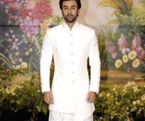 Sonam Kapoor and Anand Ahuja's wedding reception - Ranbir Kapoor