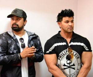 Rannvijay Singh and Sahil Khan during the audition of new fitness reality show