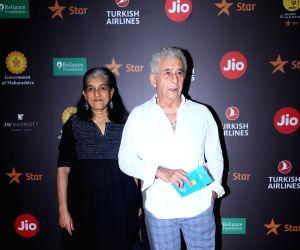 Ratna Pathak Shah, Naseeruddin Shah at Jio MAMI 21st Mumbai Film Festival