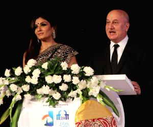 Inauguration of the 45th IFFI-2014