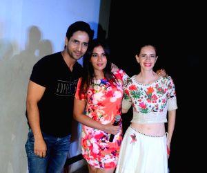 "Song launch of film ""Jia Aur Jia"" - Richa Chadda, Kalki Koechlin and Arslan Goni"