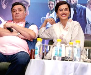 "Promotion of film ""Mulk"" - Rishi Kapoor and Taapsee Pannu"