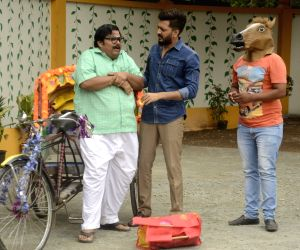 Promotion of film Bank Chor on the sets of Chidiya Ghar