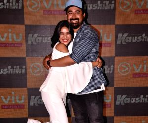 "Launch of web series ""Kaushiki"" - Sayani Gupta and Rannvijay Singha"