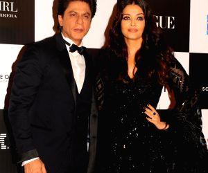"""Vogue Women Of The Year"""" 2017-Shah Rukh Khan and Aishwarya Rai Bachchan"""