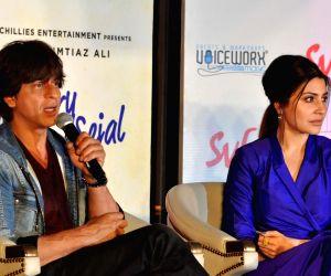 "Film ""Jab Harry Met Sejal"" promotions- Shah Rukh, Anushka"