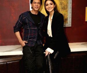 Shah Rukh Khan and Anushka Sharma during promotion of film Zero