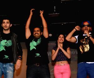 Promotion of film Badmashiyaan